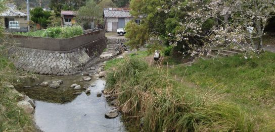 和歌山県の日本一短い川「ぶつぶつ川」