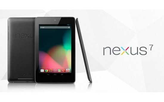 androidタブレットnexus