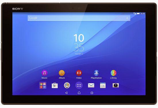 Xperia Z4 Tabletの性能