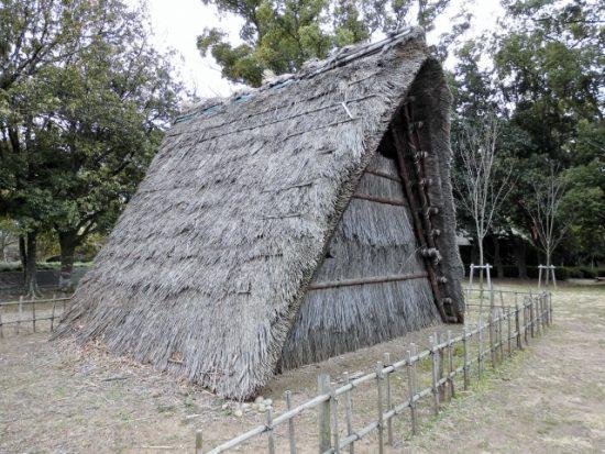 東京都埋蔵文化財センター 遺跡庭園 縄文の村