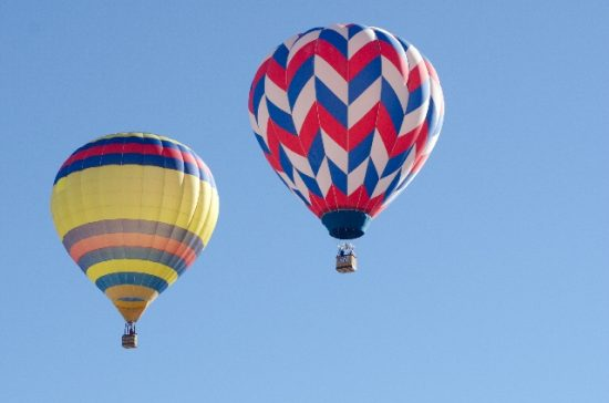 所沢航空記念公園は熱気球に乗れる