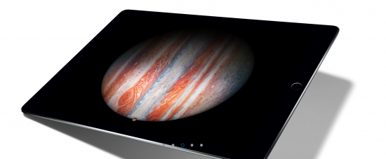 iPad Proの性能に自信あり?