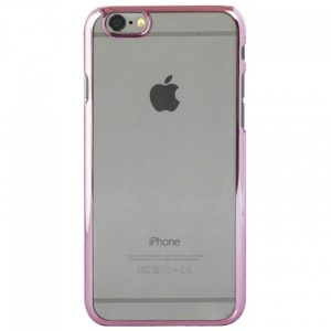 iPhone6sクリアハードケース EDGEi ピンクゴールド