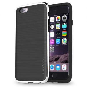 iPhone6sソフトカバーブラックシルバー