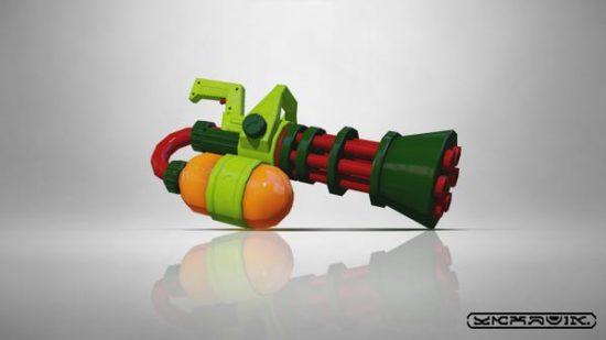 スプラトゥーン新武器スプラスピナー