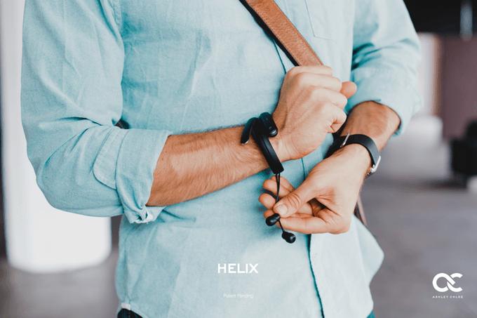 超お洒落なブレスレット型イヤホン「HELIX」がかなり革新的!
