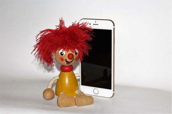iPhone6s画面が丁度いい大きさ