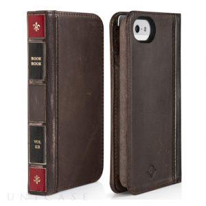 iPhone SE Twelve South BookBook (レジャーブラウン)