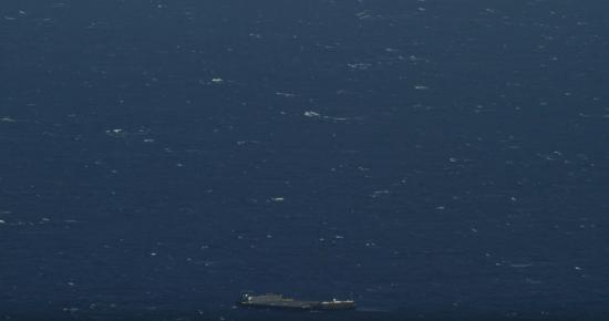 ロケットを飛ばし洋上に着陸1