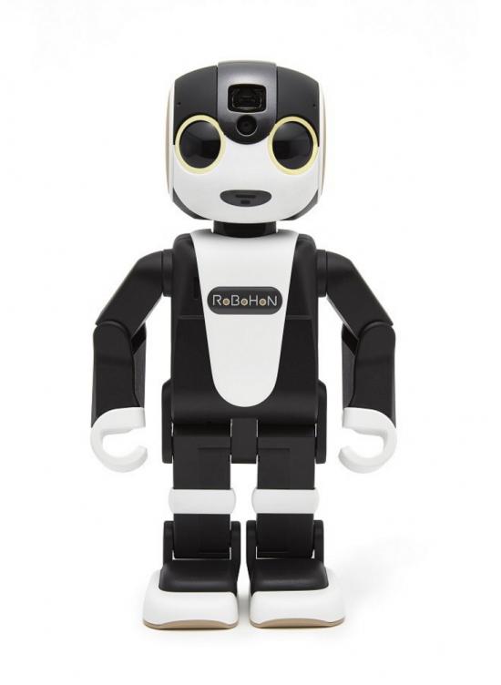スマホではなくロボット