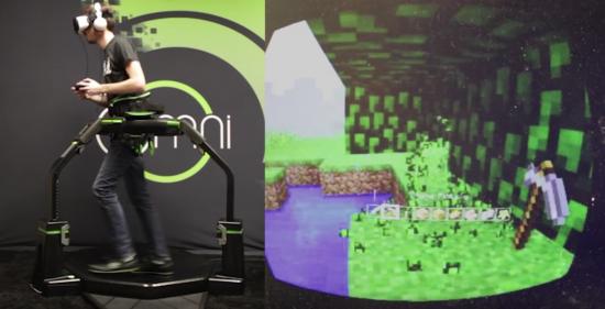 コントローラー「Virtuix Omni」でゲームの世界に?3