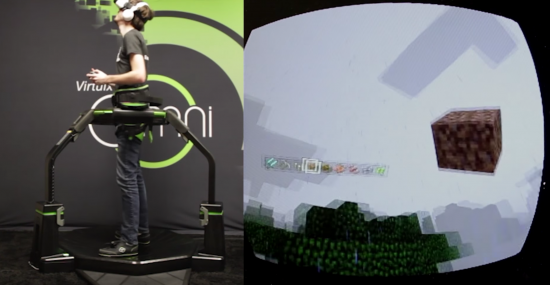 コントローラー「Virtuix Omni」でゲームの世界に?6