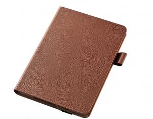 iPad Mini 4ケースソフトレザーケース/360度ブラウン