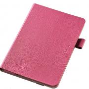 iPad Mini 4ケースソフトレザーケース/360度ピンク