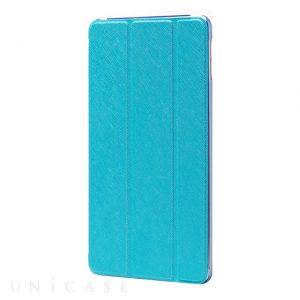 フラップケース 「Clear Note」ブルー