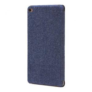 iPad Mini 4カバー薄型・軽量・フルカバー「SLIM Fabric」 (デニム柄)