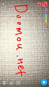 Snapchatの写真の加工の仕方8