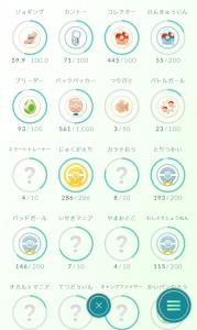ポケモンGOメダル