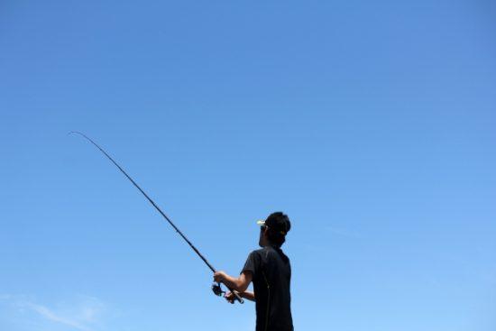 釣った魚をその場で味わえる、魚釣り&バーベキュー