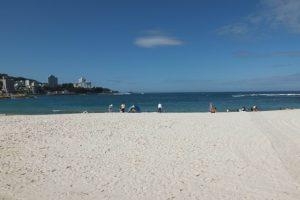 白良浜の真っ白な砂を思い出に