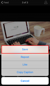 iPhoneやAndroidで画像を保存する方法2