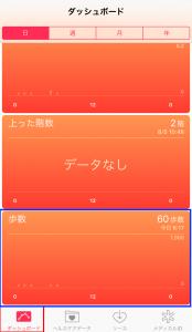 アプリ「ヘルスケア」で歩いた歩数を見る方法2