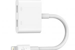 iPhone7を充電しながら音楽を聴く!Belkinのハブ「Lightning Audio + Charge RockStar」が便利