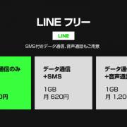 LINEモバイル「LINEフリープラン」