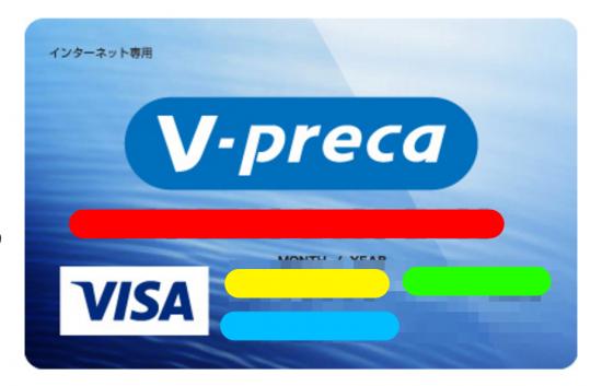 PS4でVプリカのクレジットカード情報を設定3