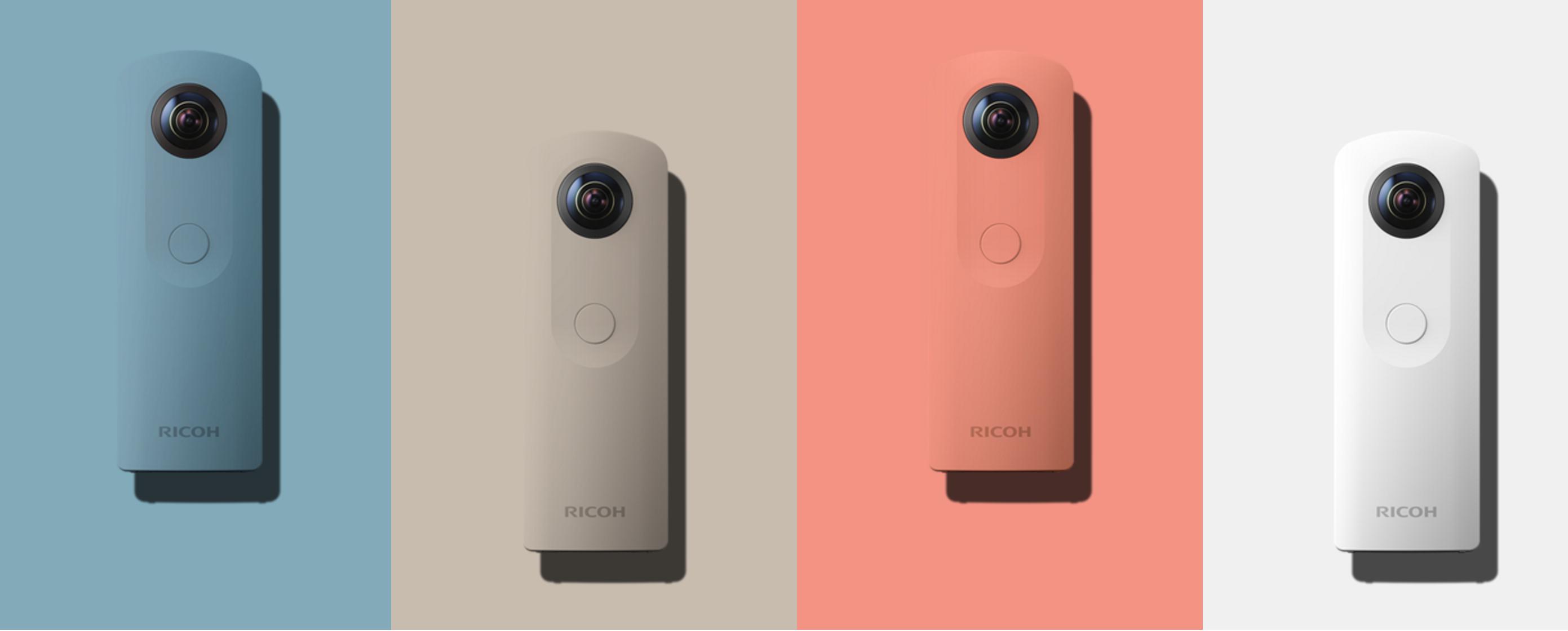 RICOHが360度カメラの新モデル「THETA SC」を10/28に発売!価格や性能を紹介