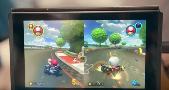 Nintendo Switch「マリオカート」