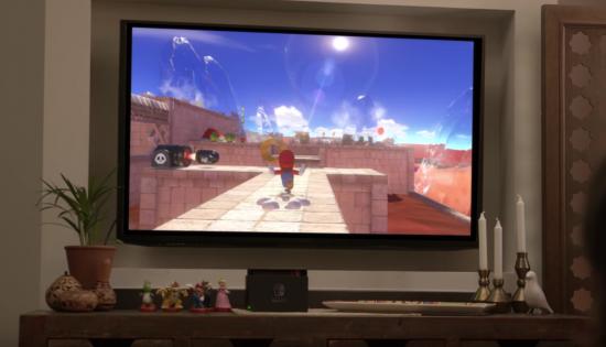Nintendo Switch「スーパーマリオブラザーズ」