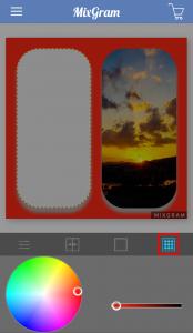 Mixgram写真の加工8