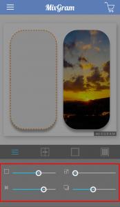 Mixgram写真の加工7