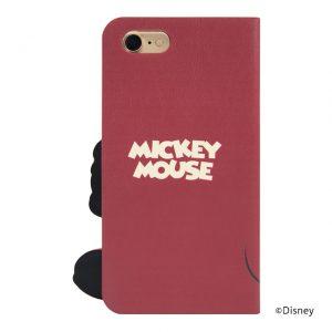 iPhone7カバーケース「ミッキー」背面