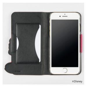 iPhone7カバーケース「ミッキー」収納ケース