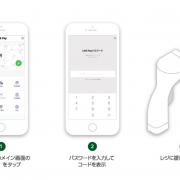 LINE Payのコード決済の方法2