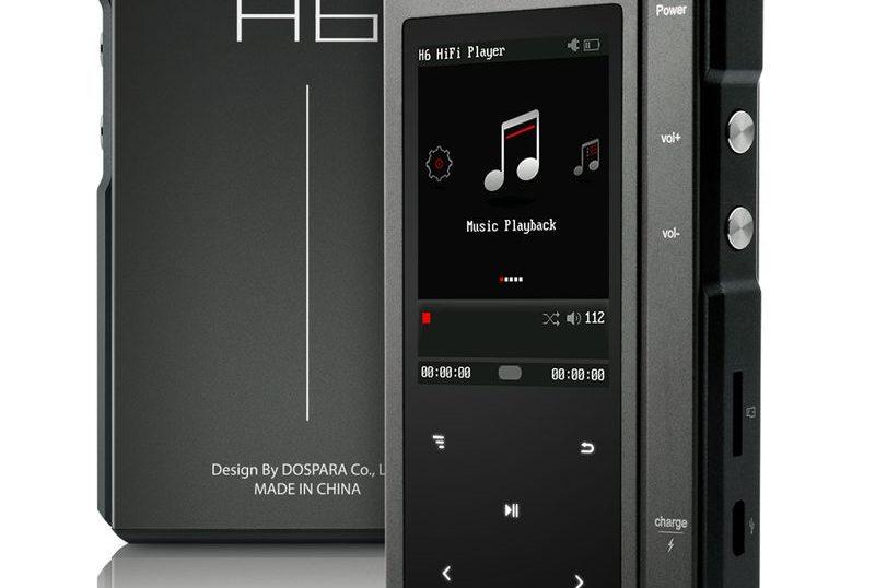 「Hi-Fiオーディオプレーヤー H6」のスペック