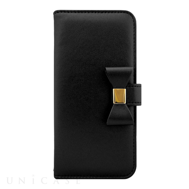 iPhone 7の手帳型リボンケースが「Ribbon Diary」から発売!ブラック、ピンク、ゴールドなど