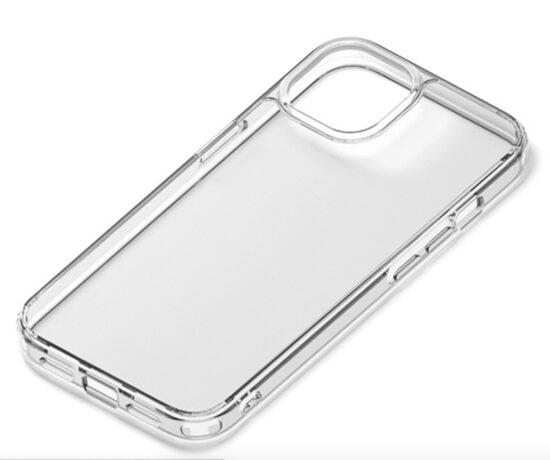 【iPhone13 ケース】抗菌ハイブリッドケース (クリア)