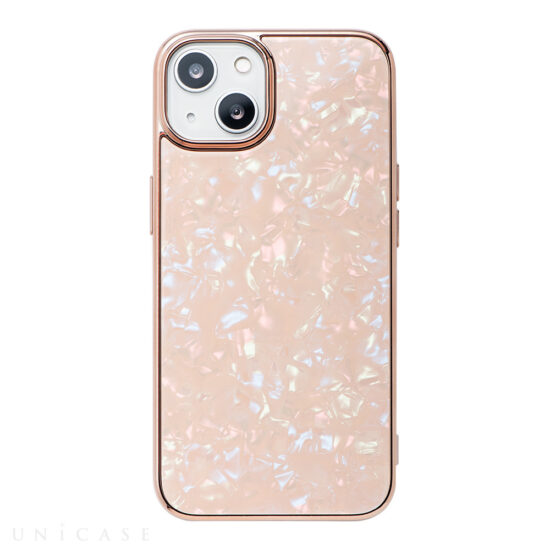 【iPhone13 ケース】Glass Shell Case for iPhone13 (coral pink)
